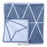 Dunes Grey Bath Towel 3
